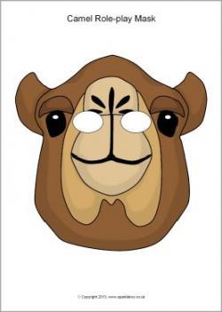 Mask clipart camel