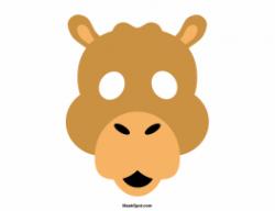 Masks clipart camel
