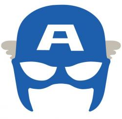 Mask clipart captain america
