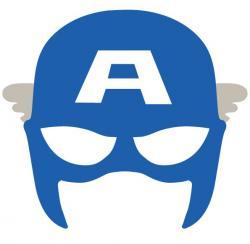 Mask clipart captain america