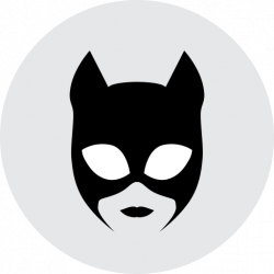 Catwoman clipart logo