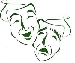 Mask clipart classic theater