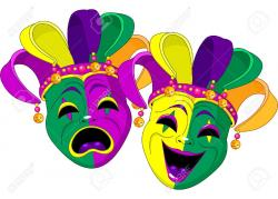 Mask clipart colorful