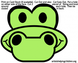 Mask clipart crocodile