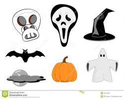 Spooky clipart cute ghost