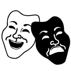 Mask clipart drama club