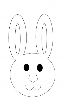 Masks clipart easter bunny