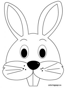 Mask clipart easter bunny