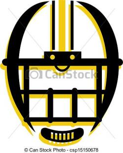 Mask clipart football