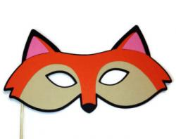 Mask clipart fox