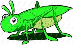Locust clipart cute