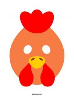 Mask clipart hen