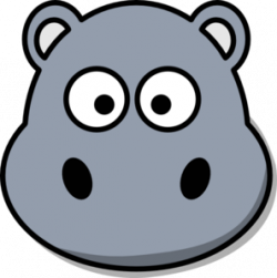 Mask clipart hippo