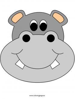 Masks clipart hippo