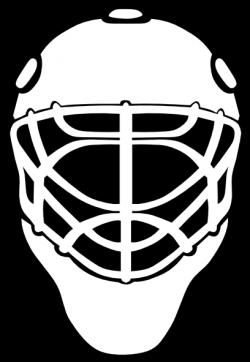Drawn masks hockey