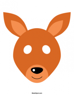 Mask clipart kangaroo