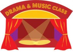 Theatre clipart drama club