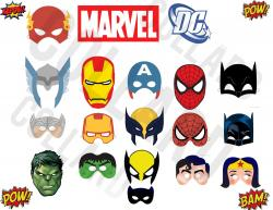 Masks clipart marvel
