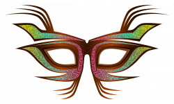 Masquerade clipart eye mask