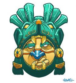 Mayan clipart mask