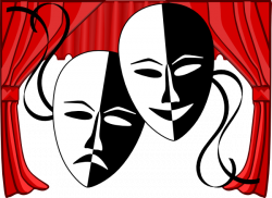 Actor clipart theater art