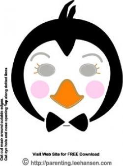 Mask clipart penguin