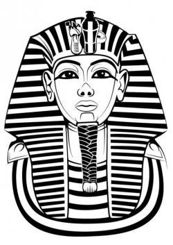 Masks clipart pharaoh