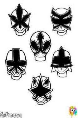 Mask clipart power ranger