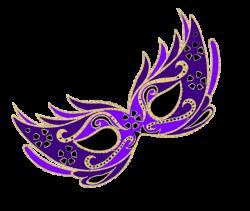 Masquerade clipart purple