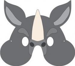 Mask clipart rhino