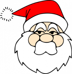 Mask clipart santa claus