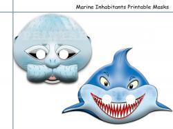 Masks clipart shark