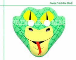 Mask clipart snake