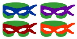 Masks clipart teenage mutant ninja turtle