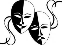 Masks clipart theater