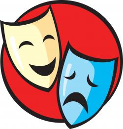 Masks clipart drama club