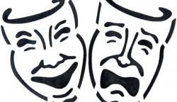 Drawn masks drama
