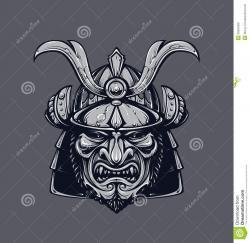 Drawn masks angry