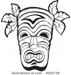 Mask clipart tribe
