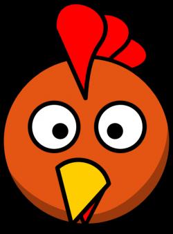 Face clipart hen
