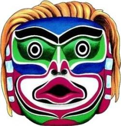 Exotic clipart tribal mask