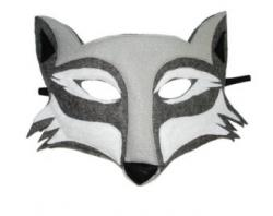 Mask clipart wolf