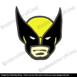 Wolverine clipart face
