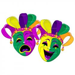 Jester clipart carnival mask