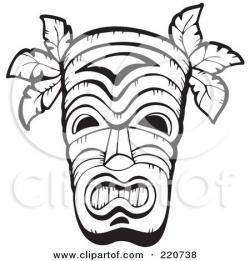 Polynesia clipart face