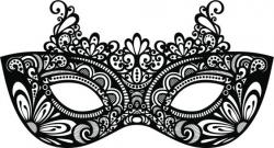 Mask clipart masquerade mask