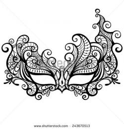 Drawn masks pattern