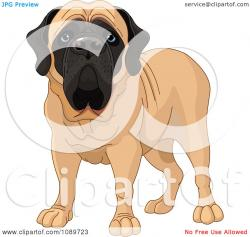Mastiff clipart boxer dog
