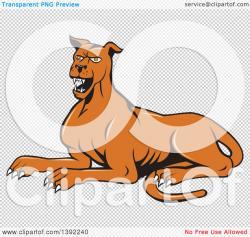 Mastiff clipart cartoon