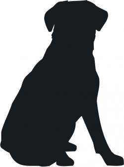 Beagle clipart dog shadow